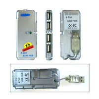 USB Hub на 4 порта для ноутбука или ПК