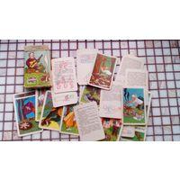 Карты (карточки) Советы туристу 32 шт в коробке