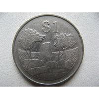 Зимбабве 1 доллар 1997 г.
