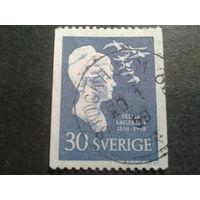 Швеция 1958 Сельма Лагерлеф - писательница