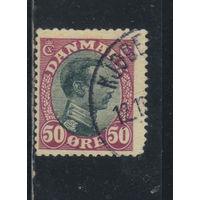 Дания 1918 Кристиан X Стандарт #105
