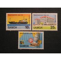 Самоа, 1982 Корабль, связь, архитектура  (3)