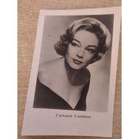 Актриса Симона Синьоре(Франция) 1961г