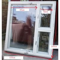 Окно деревянное двойное, б.у в идеальном состоянии