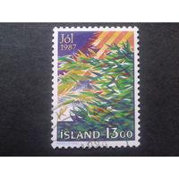 Исландия 1987 Рождество