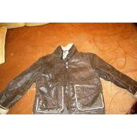 Куртка дубленка пилот на возраст 4-7 лет
