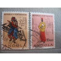 Португальская  Ангола.  Этнос.  1957г. концовки.