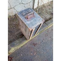 Ящик деревянный немецкий.