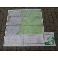 """Карта """" Беларусь в период Первой Мировой Войны"""""""