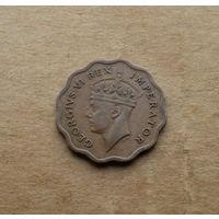 Британский Кипр, 1/2 пиастра 1943 г., Георг VI (1936-1952)
