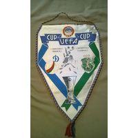 Вымпел Динамо Минск - Спортинг Лиссабон Кубок УЕФА 1984/1985 год