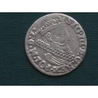 3 гроша Трояк 1623