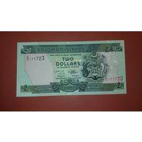 Банкнота 2 доллара Соломоновы острова 1996