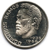Кабо-Верде 20 эскудо 1982 года. Домингос Рамос