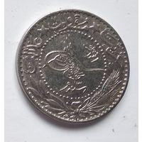 "Османская империя 20 пар, 1327 (1909) цифра ""Г"" (3) 5-2-13"