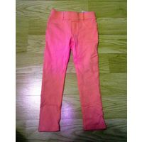 Красивые розовые брюки (ткань плотная,тянется)
