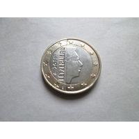 1 евро, Люксембург 2011 г., AU