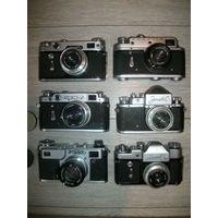 6 фотоаппаратов ссср