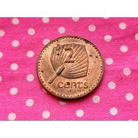 Фиджи. 2 цента 1995.