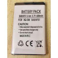Новый аккумулятор 600 maH 3.7В. Для BenQ-Siemens S68, AF51. Литий-ионный. Батарея АКБ. 600maH маЧ, 3.7 V В