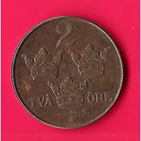 24-33 Швеция, 2 эре 1947 г.