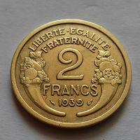 2 франка, Франция 1939 г.