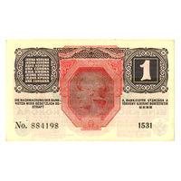 Венгрия, 1 крона 1916 года