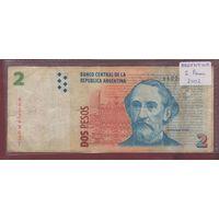 АРГЕНТИНА. 2 песо 1997-2002. 640249031 распродажа