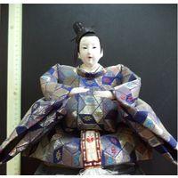 Кукла из Японии. Самурай. ручная работа
