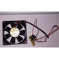 Вентилятор 80х80х25 12В 0,25А. AD0812HS-A70GL