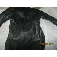 Кожаное женское пальто СССР