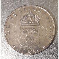 Швеция, 1 крона, 1978 год, медь-никель