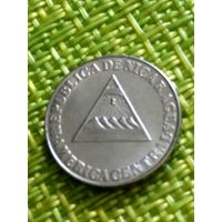 Никарагуа 5 сентаво 1994 г