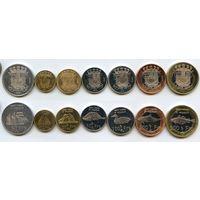 Сен-Пьер и Микелон НАБОР 7 монет 2013