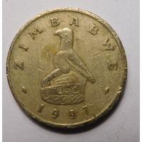 Зимбабве. 2 доллара. 1997 г.