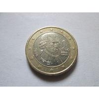 1 евро, Австрия 2010 г.