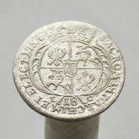 1/4 часть талера (орт) 1754 Август III Саксонец