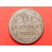 10 грошей pols 1822 IB биллон