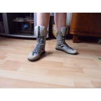 Кроссовки-ботинки итальянские 38 размера