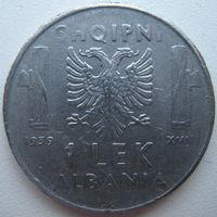Албания 1 лек 1939 г. Магнитная