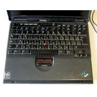 Ноутбук от IBM ThinkPad T20 Type 2647