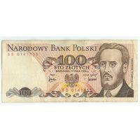 Польша, 100 злотых 1976 год. - Встречается Rеже -