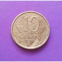 10 центов 2007 Литва #01