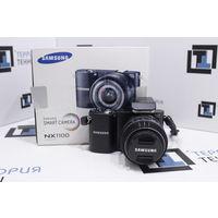 Беззеркальная камера Samsung NX1100 Kit 20-50mm (20.3Мп, Wi-Fi). Гарантия