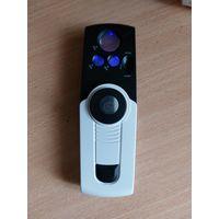 Лупа со светодиодной и ультрафиолетовой УФ LED подсветкой, карманная три 3 режима: 30х 35х 55x, крат