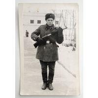 Фото из СССР. Стоим на страже Родины. 1966 г. 9х14 см.