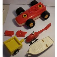 Разное из игрушек-техники СССР,одним лотом