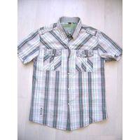 Летняя рубашка, рост 164-170см, размер M