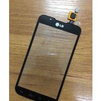 Тачскрин LG P715 черный