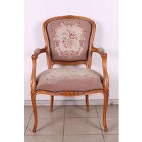 Винтажное кресло в стиле Людовика.Гобелен.Art-710.